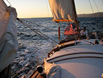 santana wind sail back to marina del rey