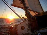 santa Ana Wind sailing sunset cruise